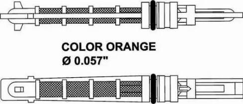NRF 38449 - Расширительный клапан, кондиционер avtokuzovplus.com.ua