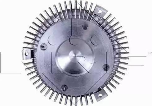 NRF 49063 - Сцепление, вентилятор радиатора autodnr.net