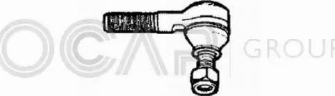 OCAP 0190659 - Наконечник рульової тяги, кульовий шарнір autocars.com.ua
