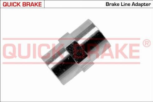 OJD Quick Brake OAA - Адаптер, трубопровод тормозного привода avtokuzovplus.com.ua