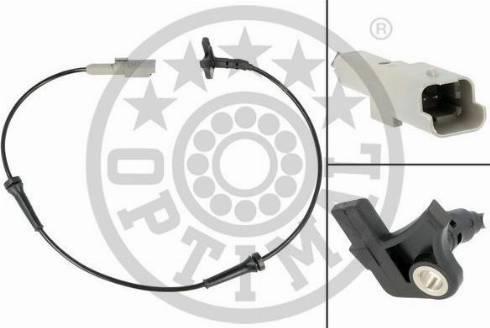 Optimal 06-S684 - Датчик ABS, частота вращения колеса autodnr.net