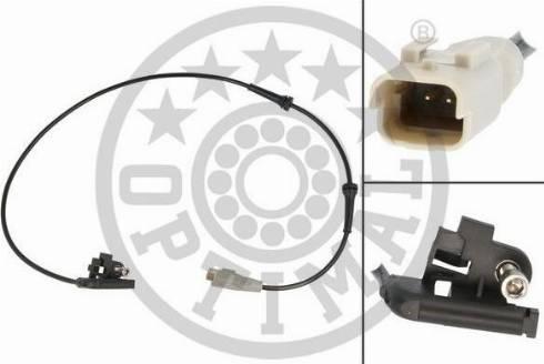 Optimal 06-S734 - Датчик ABS, частота вращения колеса autodnr.net