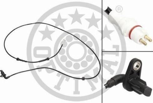 Optimal 06-S771 - Датчик ABS, частота вращения колеса autodnr.net