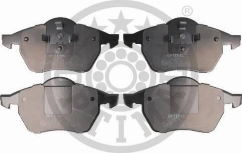 Optimal BP-10129 - Комплект тормозных колодок, дисковый тормоз autodnr.net