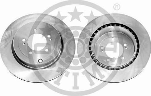 Optimal BS-8666C - Тормозной диск autodnr.net