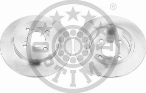 Optimal BS-8722C - Тормозной диск autodnr.net