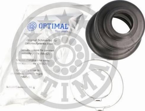 Optimal CVB-10468CR - Комплект пилника, приводний вал autocars.com.ua