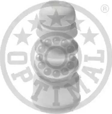 Optimal F8-6001 - Відбійник, буфер амортизатора autocars.com.ua