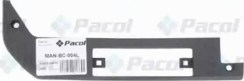 Pacol MANBC004L - Покрытие буфера, прицепное обор avtokuzovplus.com.ua