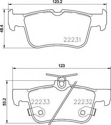 Pagid T2476 - Тормозные колодки, дисковые car-mod.com