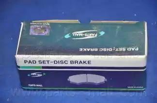 Parts-Mall PKA-023 - Комплект тормозных колодок, дисковый тормоз autodnr.net