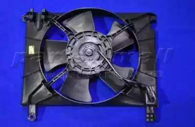 Parts-Mall pxnac-028 - Вентилятор, охлаждение двигателя autodnr.net