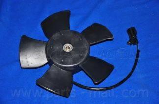 Parts-Mall pxnbc009 - Вентилятор, конденсатор кондиционера autodnr.net