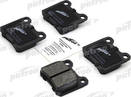 Patron PBP328 - Комплект тормозных колодок, дисковый тормоз autodnr.net