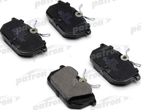 Patron PBP409 - Комплект тормозных колодок, дисковый тормоз autodnr.net