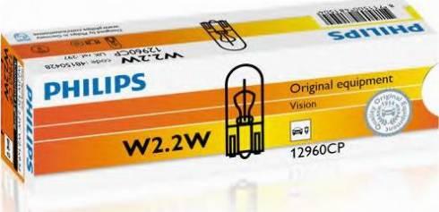 PHILIPS 12960CP - Лампа накаливания, страховочное освещение двери avtokuzovplus.com.ua