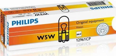 PHILIPS 12961CP - Лампа, входное освещение car-mod.com