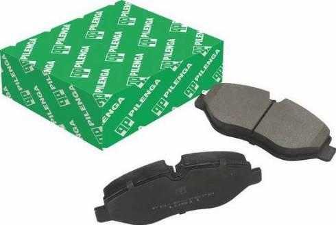 Pilenga FDP7870 - Тормозные колодки, дисковые car-mod.com
