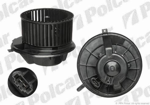 Polcar 1331NU-1 - Вентилятор салона car-mod.com
