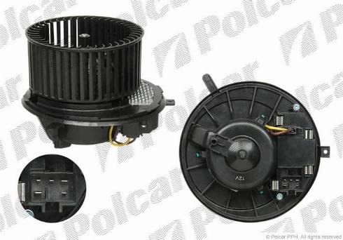 Polcar 1331NU-3 - Вентилятор салона car-mod.com