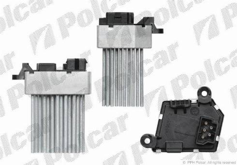 Polcar 2008KST1X - Блок управления, отопление / вентиляция car-mod.com