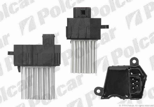 Polcar 2016KST1X - Блок управления, отопление / вентиляция car-mod.com