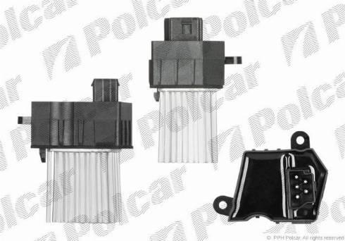 Polcar 2016KST1 - Блок управления, отопление / вентиляция avtokuzovplus.com.ua