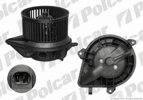 Polcar 2351NU-1 - Вентилятор салона car-mod.com