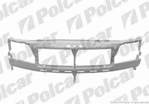 Polcar 506204 - Облицювання передка autocars.com.ua