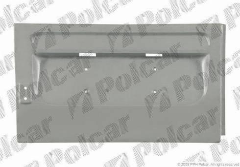 Polcar 50624041 - Задняя дверь car-mod.com