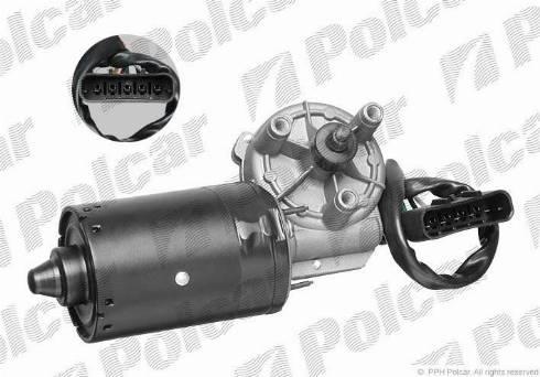 Polcar 5507SWP1 - Двигатель стеклоочистителя avtokuzovplus.com.ua