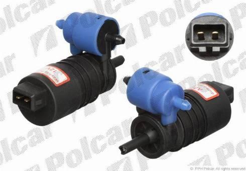 Polcar 5508PS-2 - Водяной насос, система очистки окон car-mod.com