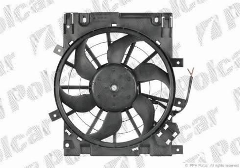 Polcar 550923W7 - Модуль охлаждения avtokuzovplus.com.ua