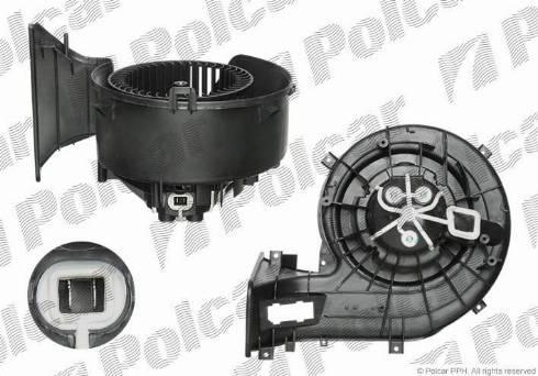 Polcar 5518NU1 - Электродвигатель, вентиляция салона car-mod.com