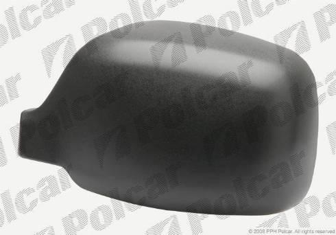Polcar 606155TM - Покрытие, корпус, внешнее зеркало car-mod.com