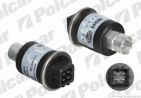 Polcar 6ZL351028111 - Пневматический выключатель, кондиционер car-mod.com