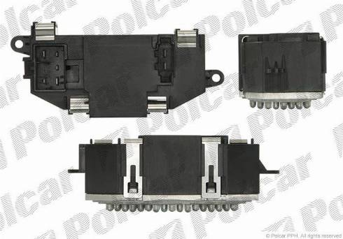 Polcar 9518KST1 - Блок управления, отопление / вентиляция car-mod.com