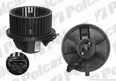 Polcar 9566NU-1 - Вентилятор салона car-mod.com