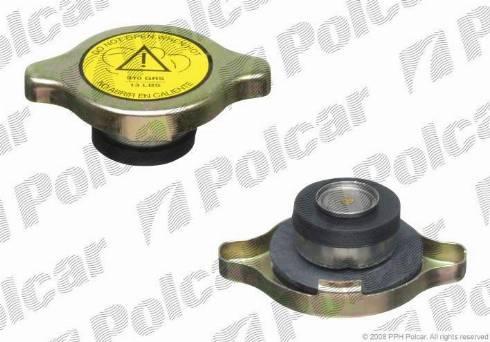 Polcar A2505 - Крышка, радиатор car-mod.com