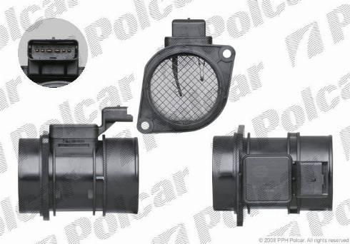 Polcar E02-0119 - Датчик потока, массы воздуха avtokuzovplus.com.ua