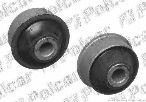 Polcar S2057017 - Сайлентблок, рычаг подвески колеса car-mod.com