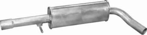Polmo 01.104 - Средний глушитель выхлопных газов autodnr.net