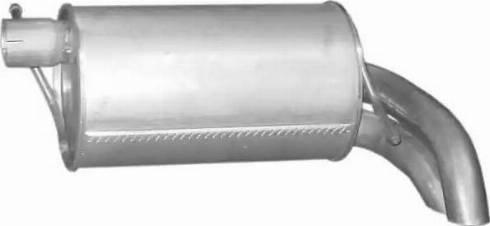 Polmo 08671 - Глушитель выхлопных газов конечный autodnr.net