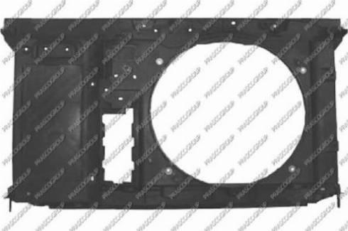 Prasco CI4263210 - Облицювання передка autocars.com.ua