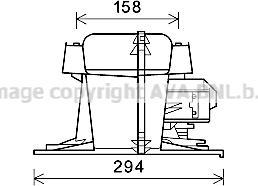 Prasco RT8521 - Электродвигатель, вентиляция салона car-mod.com