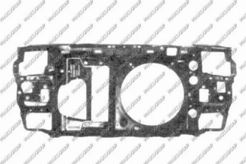 Prasco VG0163220 - Облицювання передка autocars.com.ua