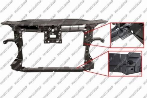 Prasco VG0553210 - Облицювання передка autocars.com.ua