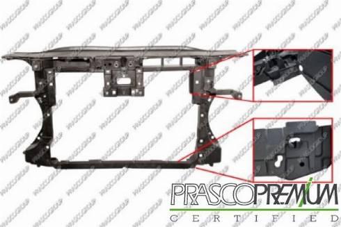 Prasco VG0553220 - Облицювання передка autocars.com.ua