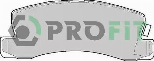 Profit 5000-0478 C - Комплект тормозных колодок, дисковый тормоз autodnr.net