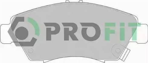 Profit 5000-0776 - Тормозные колодки, дисковые car-mod.com